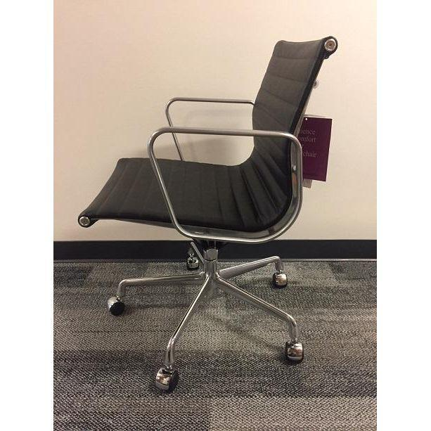 Eames Leather Office Chair - Image 4 of 5