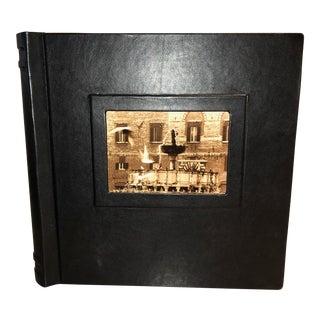 Italian Leather Photo Album For Sale
