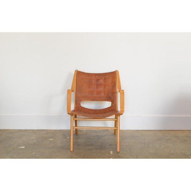 Ax Lounge Chair by Peter Hvidt & Orly Mølgaard-Nielsen, 1947 For Sale In Phoenix - Image 6 of 8