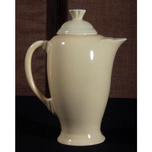 Vintage Fiesta Ware Sunflower Yellow Coffee Pot - Image 2 of 7