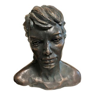 1966 Thomas Holland Bronze Finished Sculpture