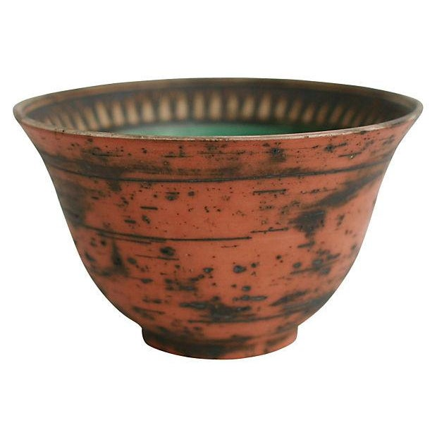 Greek Pottery Bowl - Image 1 of 5