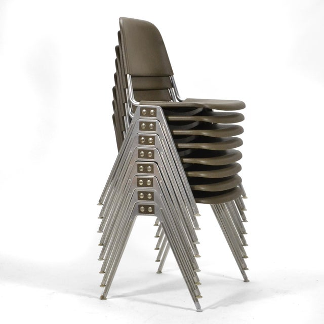 Don Albinson Stacking Side Chairs by Knoll Set of 14 For Sale - Image 9 of 11