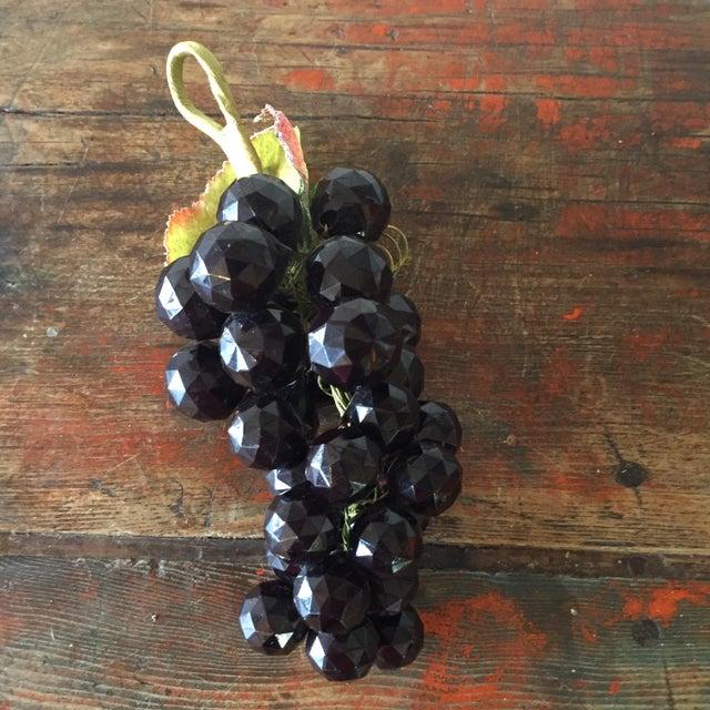 Plastic Dark Purple Grape Cluster - Image 5 of 5