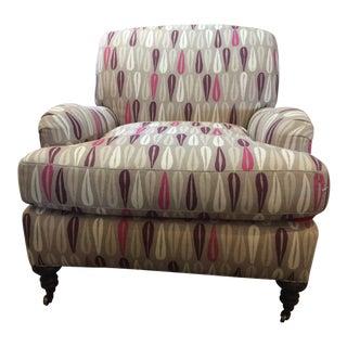 Lee Industries EnglishArm Club Chair For Sale