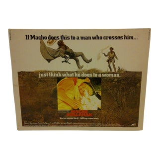 """Macho Callahan"" Vintage Movie Poster 1970 For Sale"