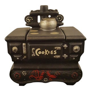 McCoy Wood Stove Cookie Jar