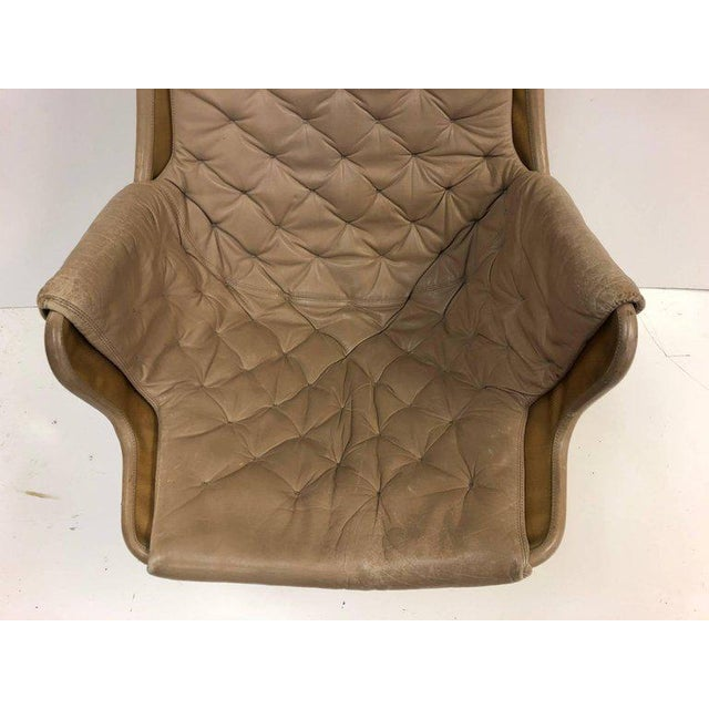 1980s Pair of Bruno Mathsson Jetson Lounge Chairs for DUX For Sale - Image 5 of 6