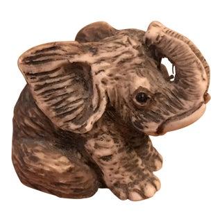 Dipinto a Mano Italian Elephant Figurine
