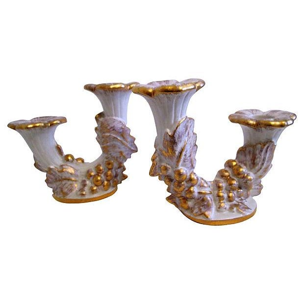 Mid-Century Royal Haeger Gold Centerpiece Set - Set of 3 - Image 5 of 7
