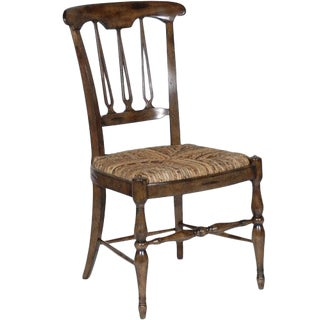1990s Vintage Cottage Sttyle Dining Side Chair For Sale