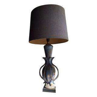 TYE of California Brown Ceramic Table Lamp For Sale