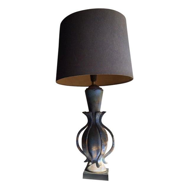 TYE of California Brown Ceramic Table Lamp - Image 1 of 11