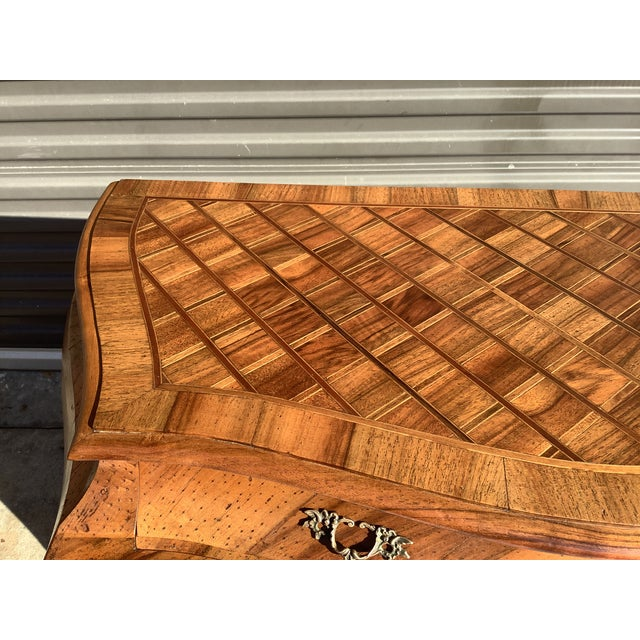 Italian Bombay Chest W/ Parquetry For Sale - Image 9 of 13