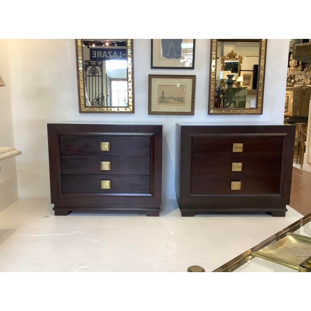 Art Deco Chests, a Pair, Futurama For Sale - Image 13 of 13