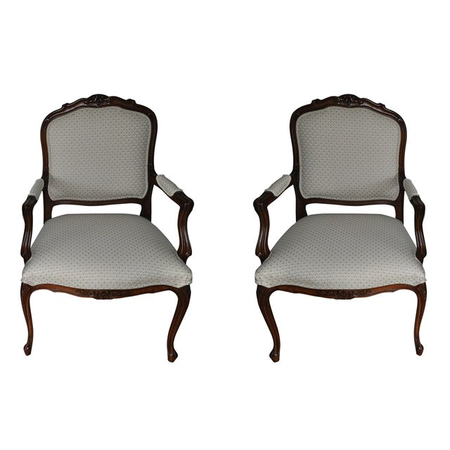 Ethan Allen French Duvall Chair - Image 1 of 3