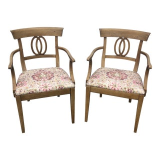 1970s Drexel Accent Chairs** - a Pair For Sale