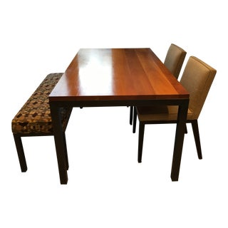 Room & Board Mid Century Modern Dining Set For Sale