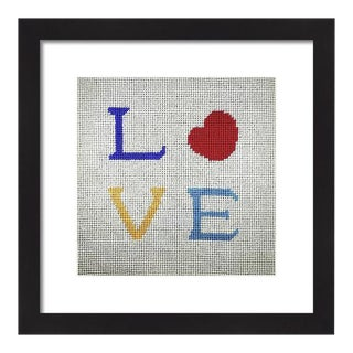 Modern Love Original Framed Art