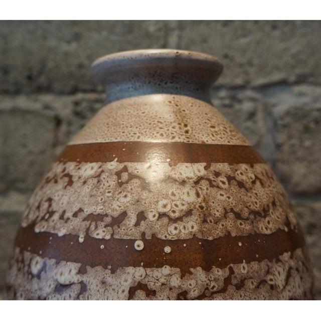 Mid-Century Modern 1920s Boch Freres Keramis Stoneware Vase For Sale - Image 3 of 7
