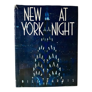 "Vintage Hardcover Photography Book ""New York at Night"""