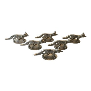 Fox Place Card Holders & Cards - Set of 12