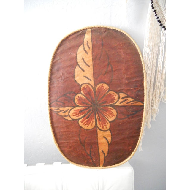 Floral Moroccan Wall Hangings - A Pair - Image 3 of 6