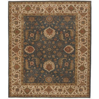 """Hand-Knotted Indo-Persian Rug- 8'1""""x 9'5"""" For Sale"""