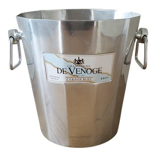 French De Venoge Champagne Ice Bucket For Sale