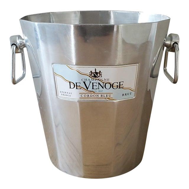 French De Venoge Champagne Ice Bucket For Sale