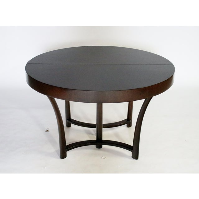 t.h. Robsjohn Gibbings Expandable Dining Table For Sale - Image 9 of 9
