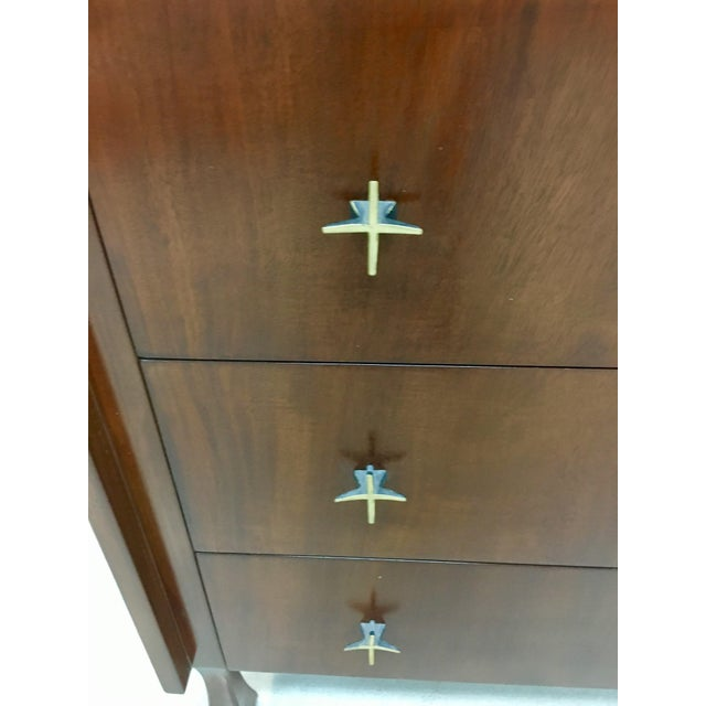 John Widdicomb Highboy Dresser For Sale - Image 5 of 9