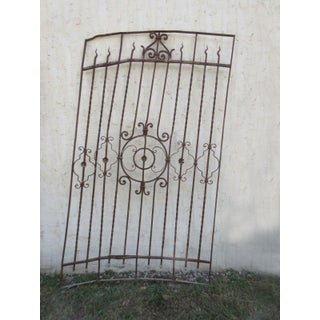 Antique Victorian Iron Gate Preview