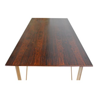 Arne Jacobsen for Fritz Hansen Rosewood Dining Table For Sale