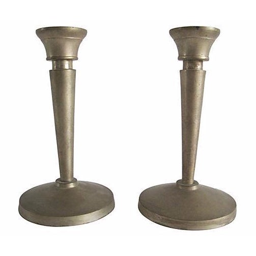 Neoclassical Candlesticks- A Pair - Image 1 of 3