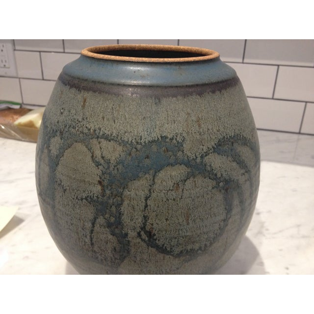 Mid-Century Studio Pottery Lidded Jar - Image 3 of 5