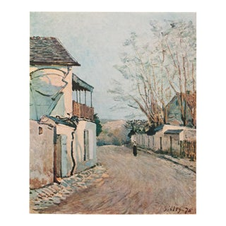 """1930s Alfred Sisley, Rare Original """"The Route of the Princess at Louveciennes"""" Lithograph For Sale"""