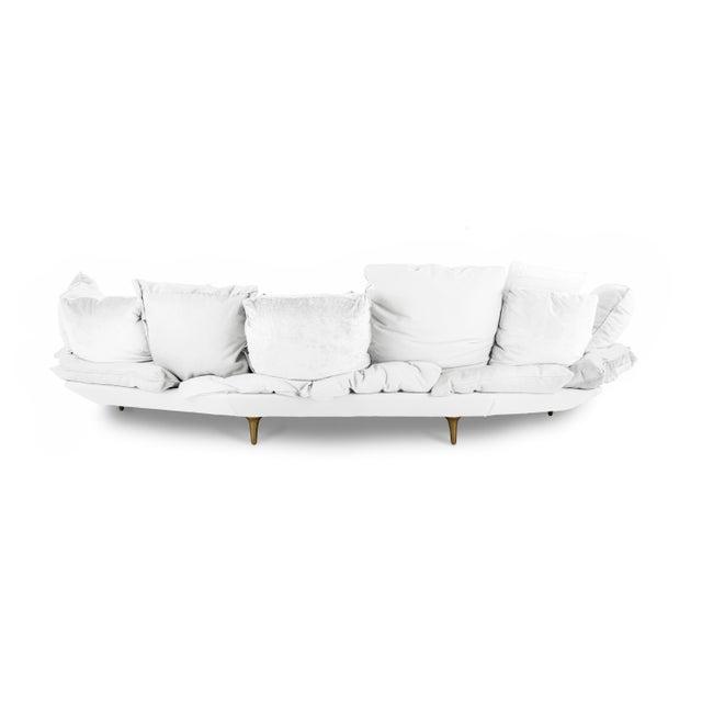 Seletti Seletti, Comfy Sofa, White, Marcantonio, 2017 For Sale - Image 4 of 5