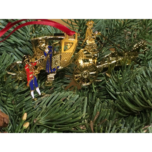 Horse & Carriage Christmas Tree Ornament For Sale In West Palm - Image 6 of 8