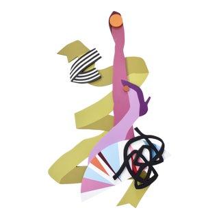 Angela Chrusciaki Blehm Leg Up Wall Sculpture For Sale
