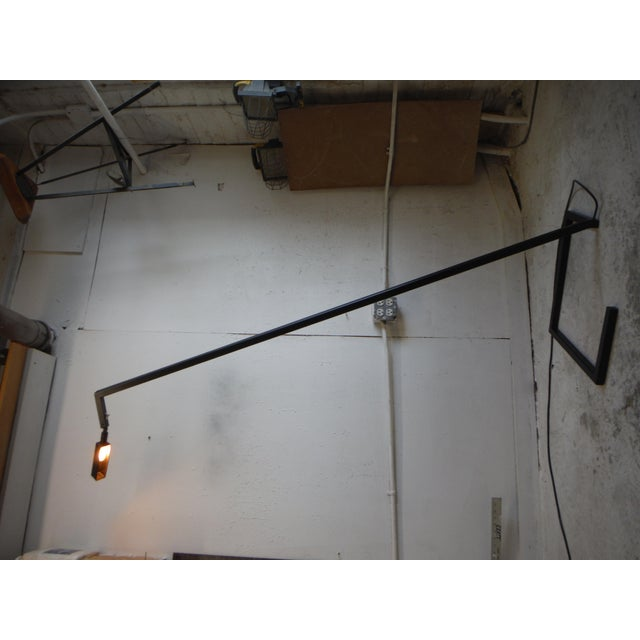 Art Deco Steel Sketch Floor Lamp For Sale - Image 3 of 7