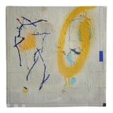 Image of 'Infinity Has 2 Definite Endings' Abstract Painting by Leticia Sampedro For Sale