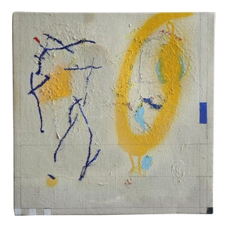 'Infinity Has 2 Definite Endings' Abstract Painting by Leticia Sampedro For Sale