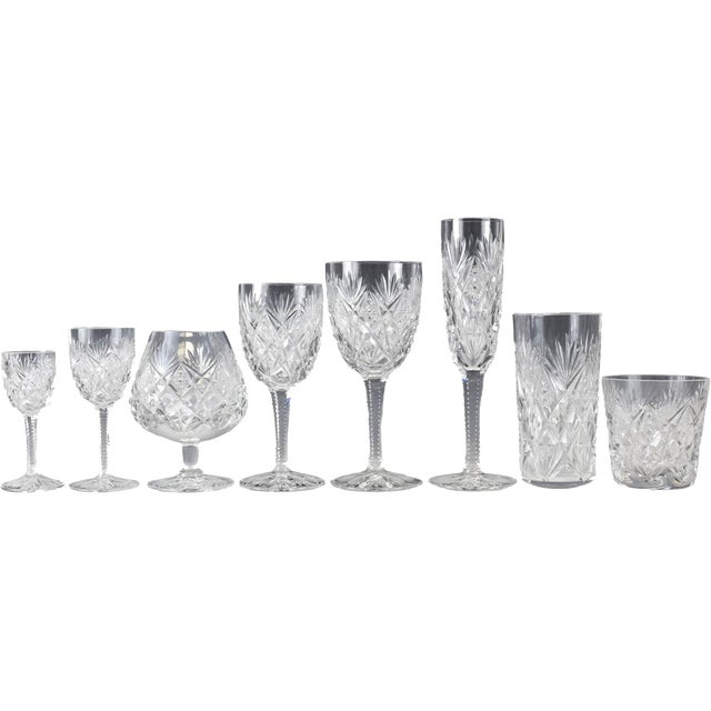 Stemware Service for 12 in Florence Pattern by Saint Louis - Set of 108 - Image 2 of 7