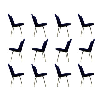 1960s Vintage a.p. Stolen for Hans J. Wegner Airport Lounge Chairs - Set of 12 For Sale