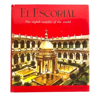 """El Escorial"" Vintage Historic Art Large Coffee Table Book For Sale"