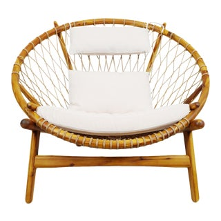 Mayan Sunset Rope Chair For Sale