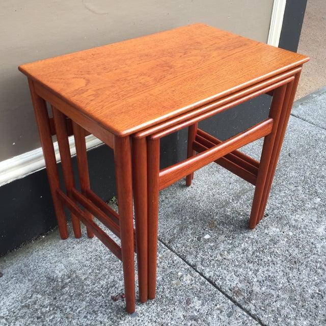 Hans Wegner Nesting Tables - Set of 3 - Image 5 of 11