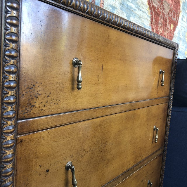 1990s Italian Traditional 3-Drawer Chest For Sale - Image 4 of 10