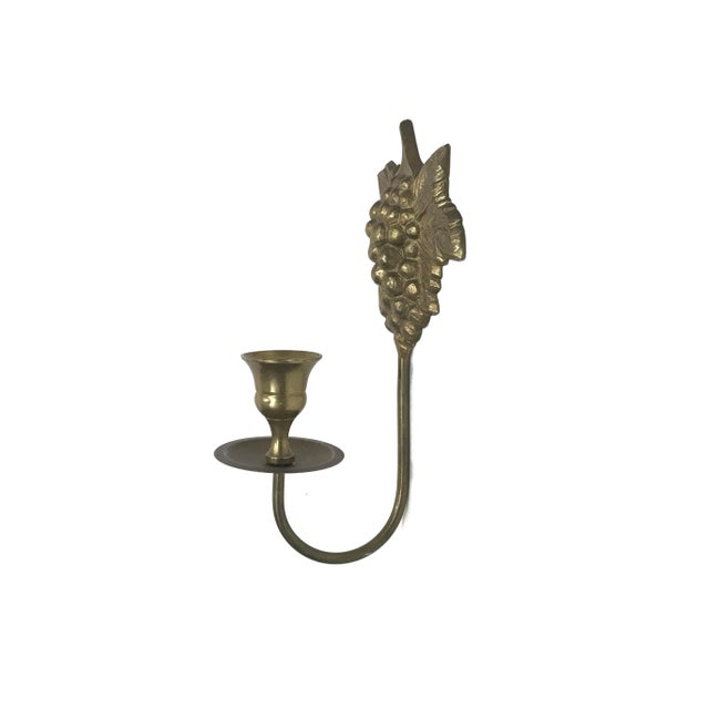 Wall Mount Candle Sconces - A Pair For Sale - Image 5 of 7
